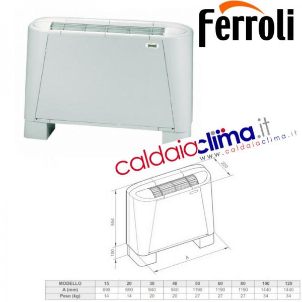 Ventil-termoconvettore Ferroli VM-B 30
