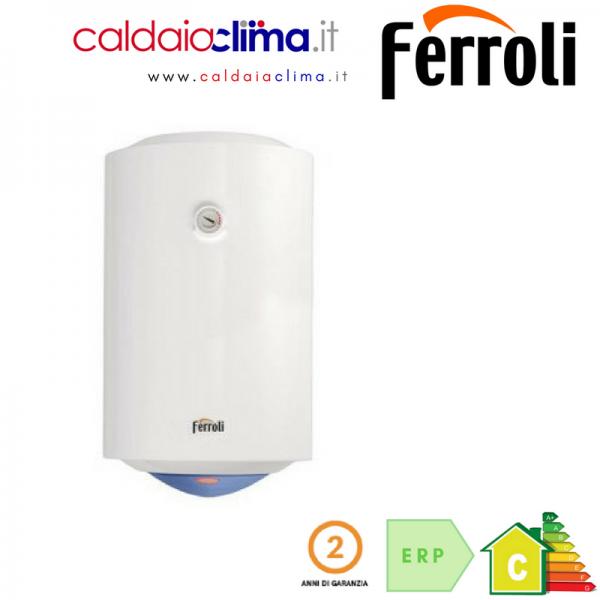 Scaldabagno elettrico ferroli calypso vert 80 litri - Scaldabagno elettrico prezzi 80 litri ...