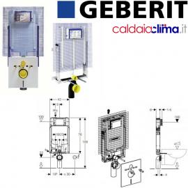 GEBERIT CASSETTA DI SCARICO AD INCASSO COMBIFIX