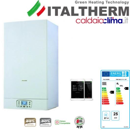 ITALTHERM CALDAIA A CONDENSAZIONE TIME MAX 27K - 25KW METANO