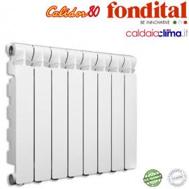 RADIATORE IN ALLUMINIO FONDITAL CALIDOR 80/800 BATTERIA 10 ELEMENTI