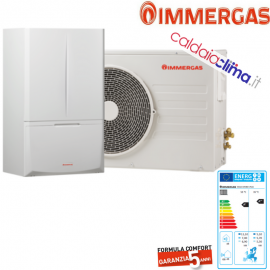 POMPA DI CALORE IMMERGAS MAGIC COMBO PLUS METANO 8 KW