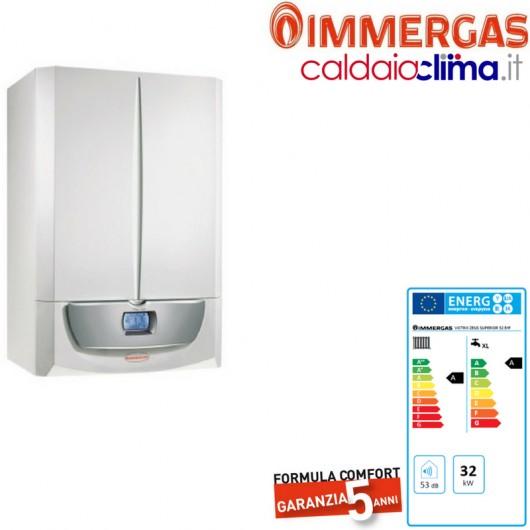 Caldaia condensazione Immergas Victrix Zeus Superior Erp 32 kw