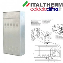 Kit box da incasso City Box 25K - Italtherm