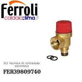 FERROLI VALVOLA DI SICUREZZA FER39809740 ORIGINALE