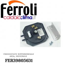 FERROLI PRESSOSTATO DIFFERENZIALE ARIA ORIGINALE FER39805631