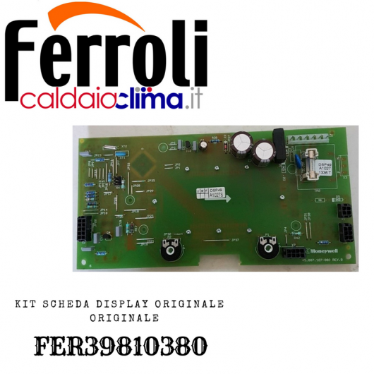 FERROLI KIT SCHEDA DISPLAY ORIGINALE FER39810380