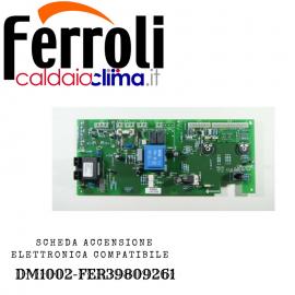 FERROLI SCHEDA ACCENSIONE ELETTRONICA COMPATIBILE DM1002-FER39809261