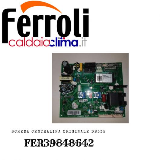 FERROLI SCHEDA CENTRALINA ORIGINALE DB33B-FER39848642