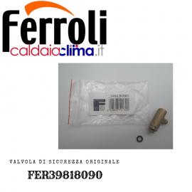 FERROLI VALVOLA DI SICUREZZA ORIGINALE FER39818090