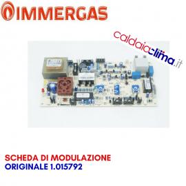IMMERGAS SCHEDA DI MODULAZIONE ORIGINALE 1.015792