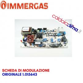 IMMERGAS SCHEDA DI MODULAZIONE ORIGINALE 1.015643