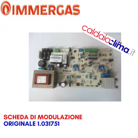IMMERGAS SCHEDA DI MODULAZIONE ORIGINALE 1.031751