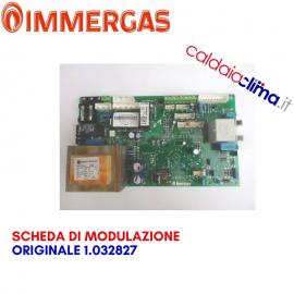 IMMERGAS SCHEDA DI MODULAZIONE ORIGINALE 1.032827