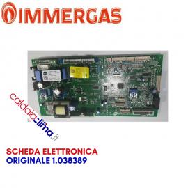 IMMERGAS SCHEDA ELETTRONICA ORIGINALE 1.038389