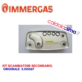 IMMERGAS SCAMBIATORE SECONDARIO ORIGINALE 3.015567