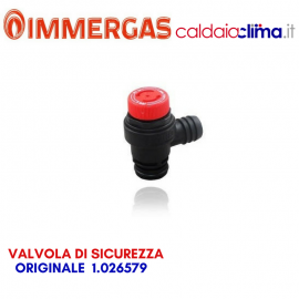IMMERGAS VALVOLA DI SICUREZZA ORIGINALE 1.026579