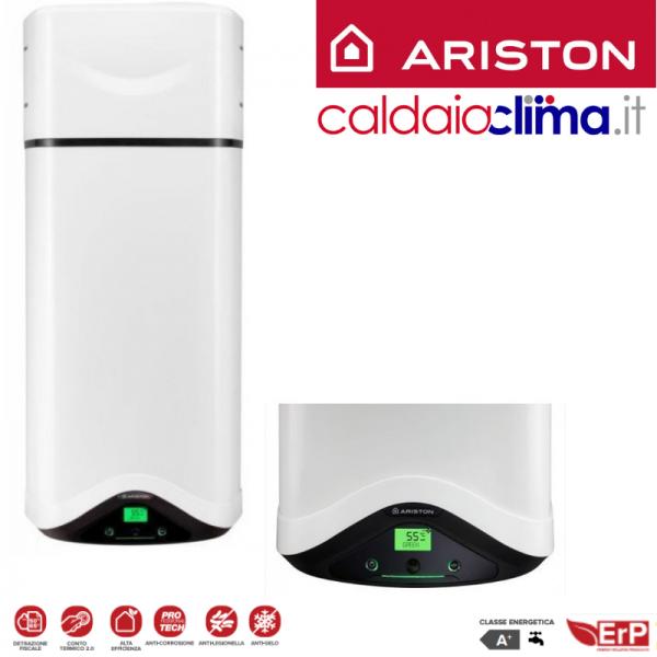 Ariston scaldabagno a pompa di calore nuos evo a 110 wh erp - Scaldabagno con pompa di calore ...