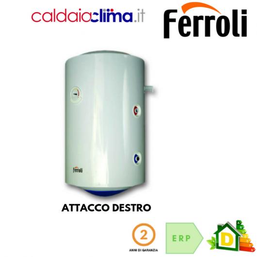 Scaldabagno Termoelettrico Ferroli Calypso MT 150 litri - Attacco Destro