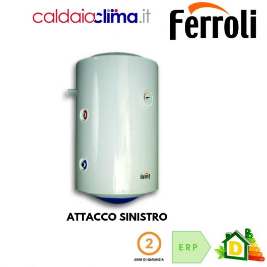 Scaldabagno Termoelettrico Ferroli Calypso MT 100 litri - Attacco Sinistro