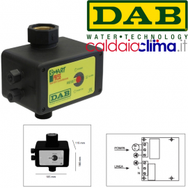 Regolatore di pressione Smart Press Controll WG 1.5 hp DAP POMPE