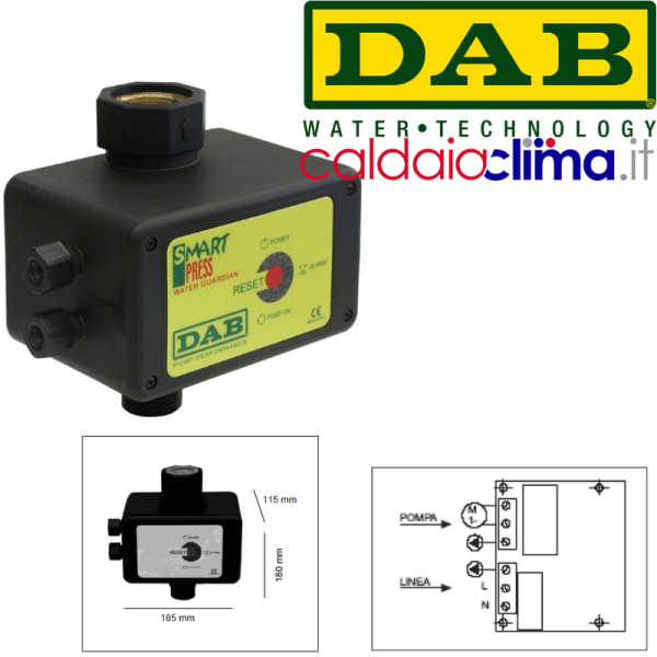 Regolatore di pressione Smart Press Controll WG 1.5 hp DAP ...