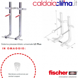 Staffa per sanitari sospesi Lc Plus Fisher - Art. 501026