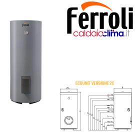 Ferroli Bollitore Verticale Ecounit F 300-2C