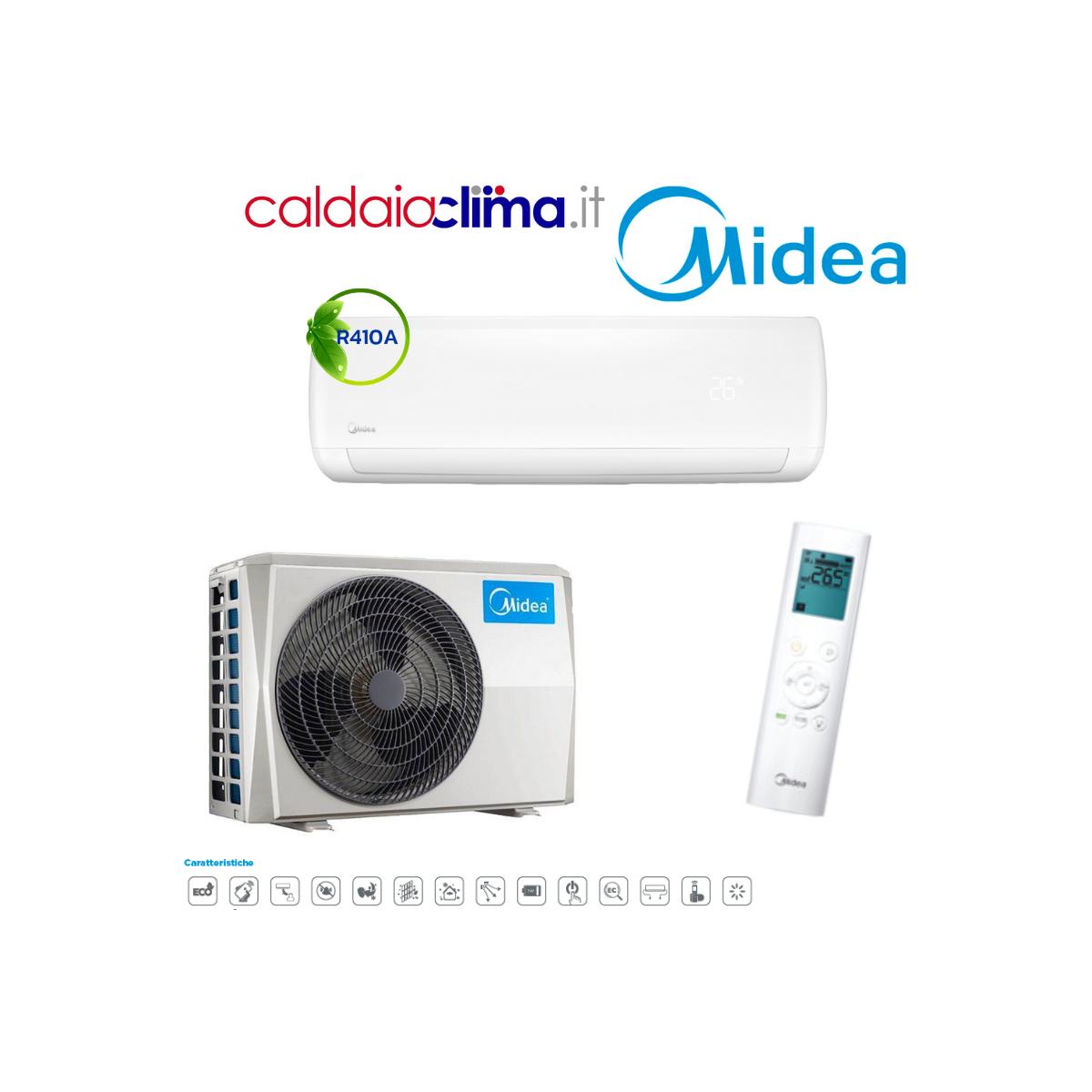 Climatizzatore Midea Mission WF R410A 12000 BTU