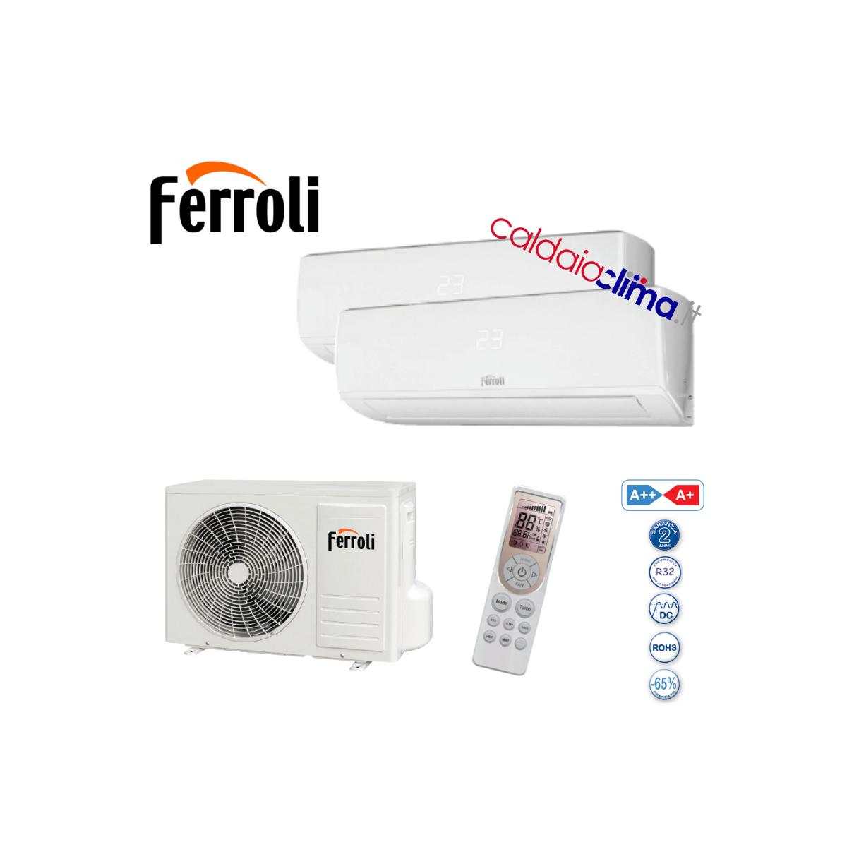 Multi M 3.2 Climatizzatore Dualsplit Ferroli Gold 9000+9000 btu