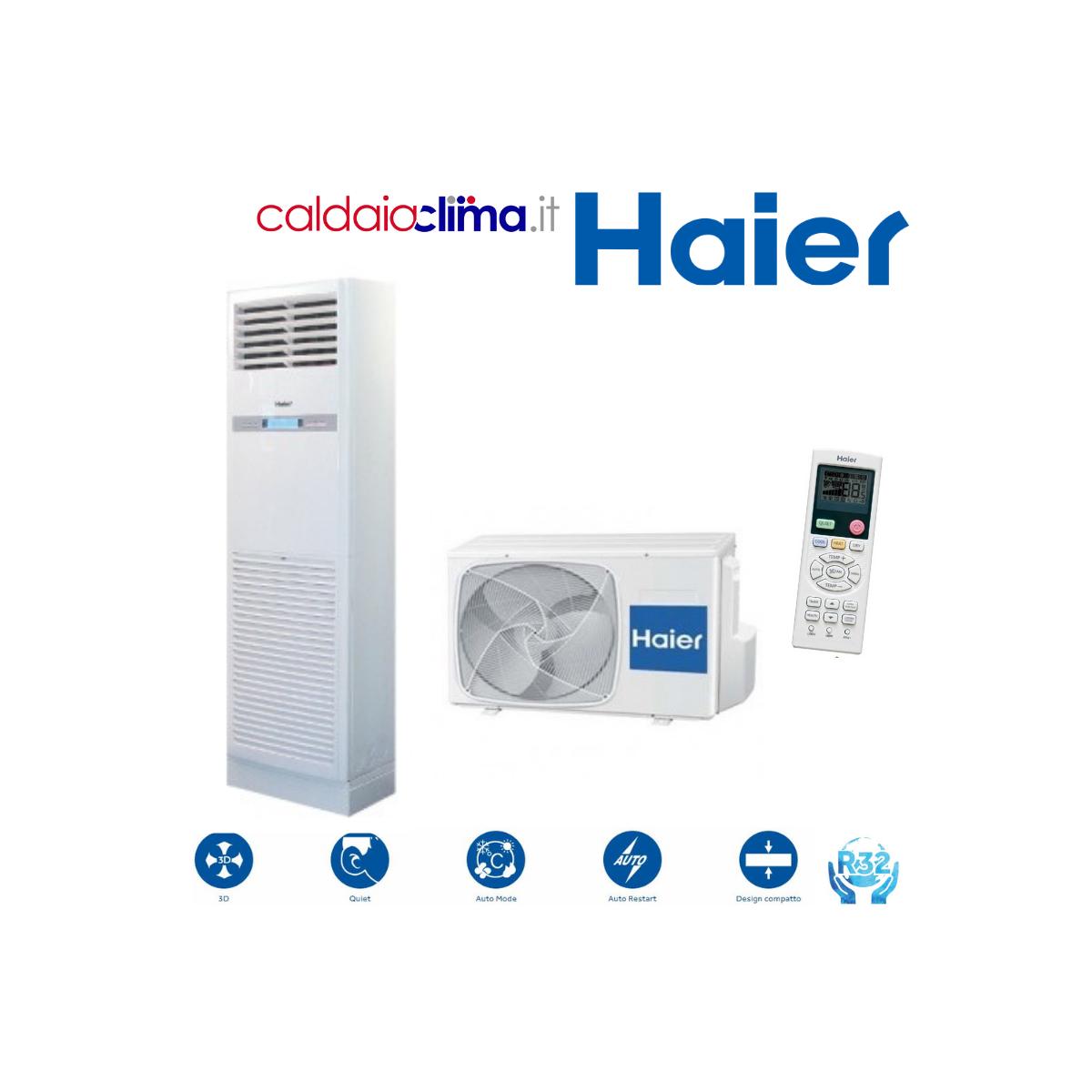 Climatizzatore Haier Colonnna KS in R410A 48000 BTU Trifase