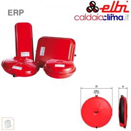 Vaso d'espansione piatto a membrana fissa per riscaldamento Elbi ERP 385-12