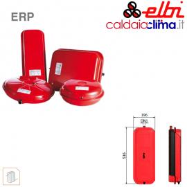 Vaso d'espansione piatto a membrana fissa per riscaldamento Elbi ERP RET-10