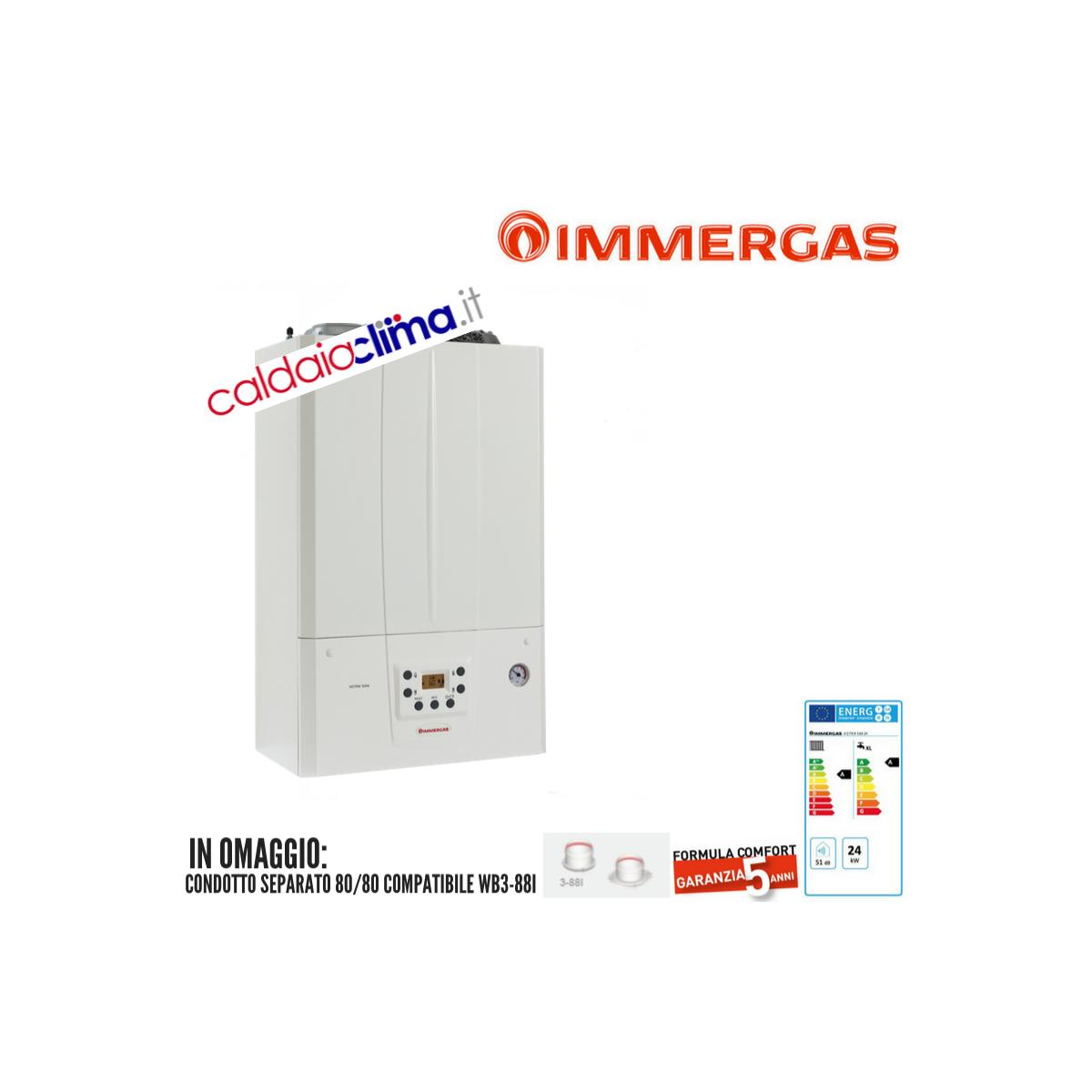 Caldaia a Condensazione Immergas Victrix Tera 24 - 24 kw Metano