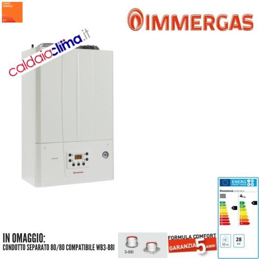 Caldaia a condensazione Immergas Victrix Tera 28 - 28 kw Metano
