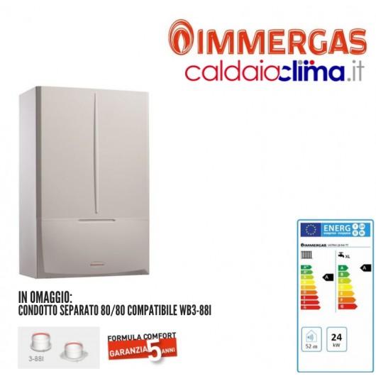 Caldaia a condensazione Immergas Victrix KW TT 28 - 28 kw Metano
