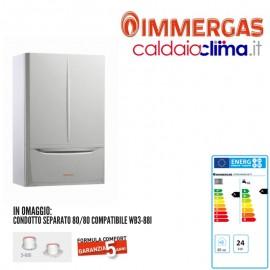 Caldaia a condensazione Immergas Victrix Maior TT28-28 kw Metano