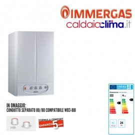 Caldaia a condensazione Immergas Victrix ZEUS Erp 26 kw - Metano