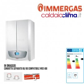 Caldaia condensazione Immergas Victrix Zeus Superior Erp 26 kw