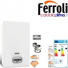 Caldaia a condensazione Ferroli Bluehelix Tech rrt 34 kw Metano