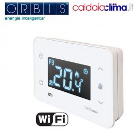 Cronotermostato programmabile wifi Orbis Nexu - Bianco