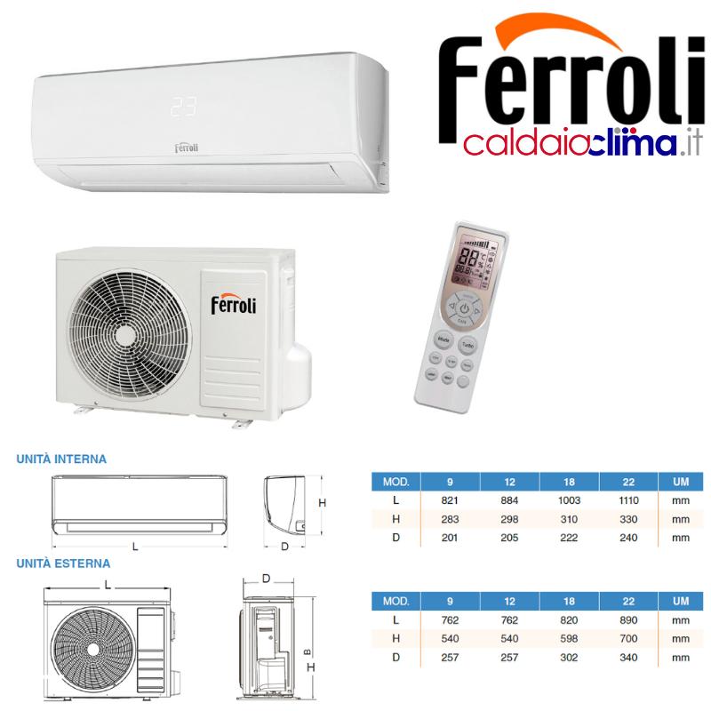 Climatizzatore Ferroli Gold 3.2